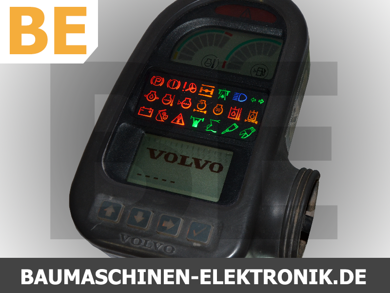 volvo, ec240, volvo ec240, instrument cluster, kombiinstrument, paneel, display, volvo display, volvo tacho, volvo tachoreparatur, tachoreparatur, 14390065, 14390065-p03, volvo 14390065, ec160, ec180, elektronik service, baumaschinen elektronik service, baumaschinen elektronik, baumaschinen service, volvo baumaschinen