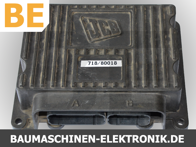 jcb, jcb 718/80018, jcb Steuergerät, Steuergerät reparatur, jcb service, jcb baumaschinen elektronik, baumaschinen elektronik reparatur