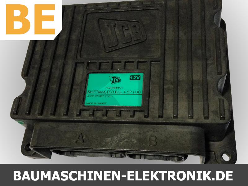 jcb shiftmaster 728/80051, 728/80051 Steuergerät, ecu jcb, jcb ecm, jcb getriebesteuerung reparatur, jcb getriebesteuerung, jcb elektronik, elektronik reparatur jcb,  bhl 4 sp luc, shiftmaster bhl 4