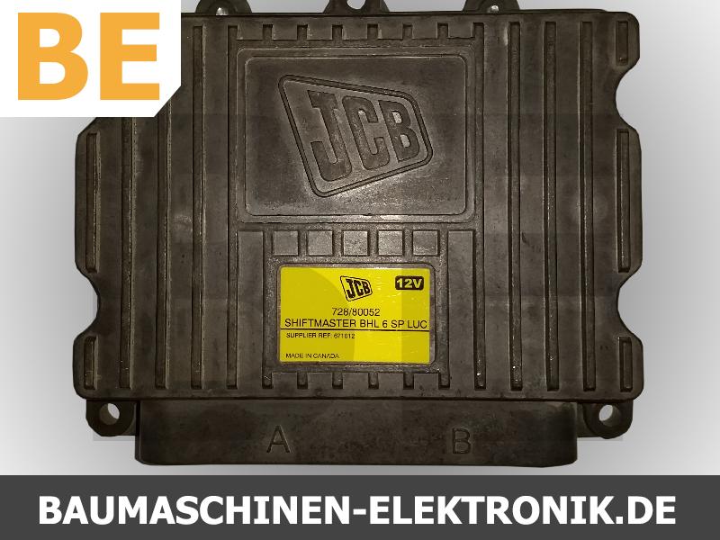 jcb shiftmaster 728/80052, 728/80052 Steuergerät, ecu jcb, jcb ecm, jcb getriebesteuerung reparatur, jcb getriebesteuerung, jcb elektronik, elektronik reparatur jcb,  bhl 6 sp luc, shiftmaster bhl 6