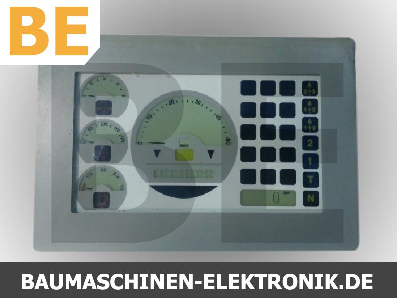 liebherr 554, liebherr 554 monitor, liebherr elektronik reparatur, liebherr service, liebherr kombiinstrument, liebherr kombiinstrument reparatur, liebherr 6905980, idnr 6905980,  6905980,