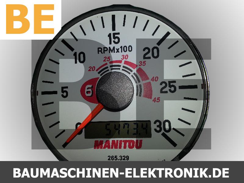 manitou MT625 kombiinstrument, manitou MT625 tacho, manitou MT625 drehzahlmesser, manitou MT625 motostunden, manitou MT625 display, manitou MT625 anzeige, manitou MT625 dash